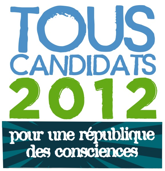 "Logo ""Tous candidats 2012"""